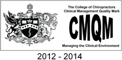 College of Chiropractors quality mark