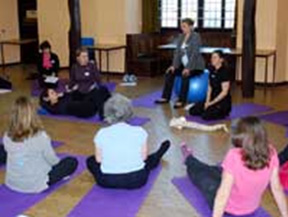 Exercise instructors back pain workshop