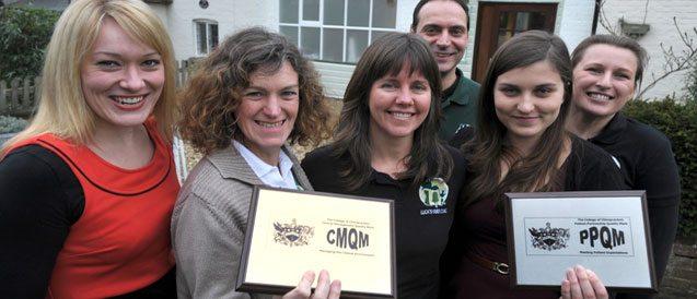 Lucks Yard clinic team wins award