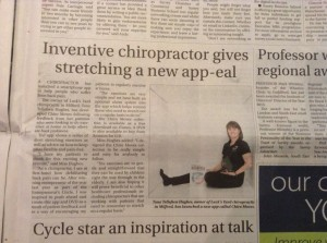 Chiromoves Luck's Yard Surrey Newspaper